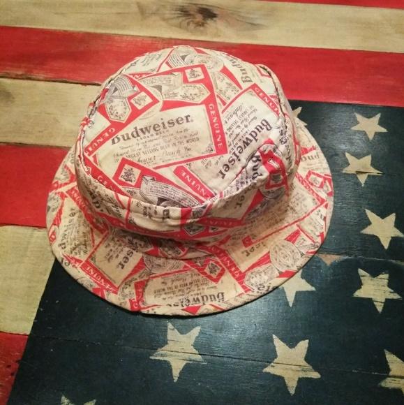 50f829b346c Budweiser Other - 70 s Vintage Budweiser Boonie Hat